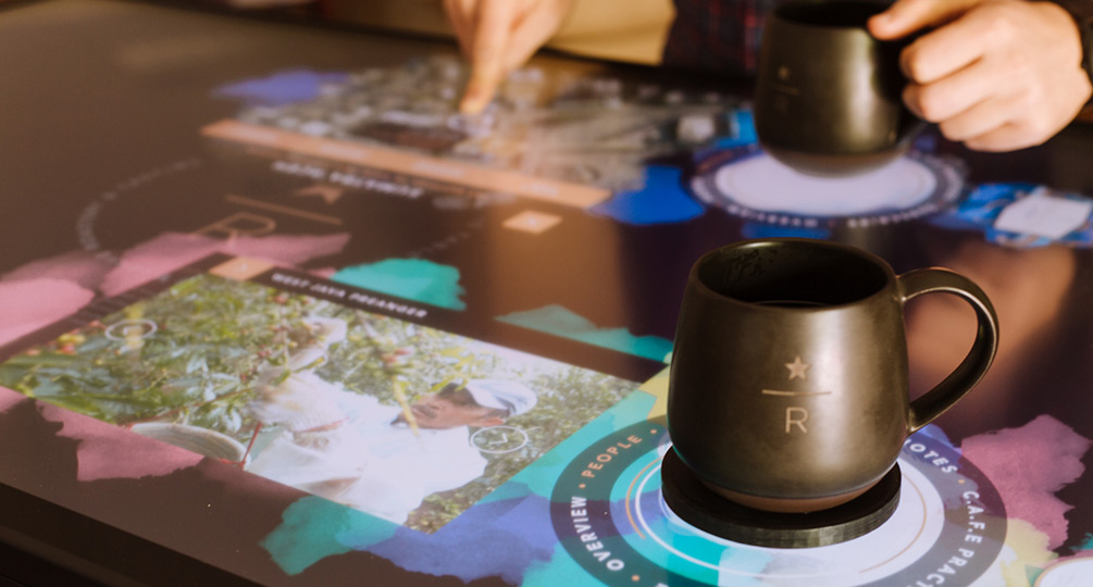 Interactive Coffee Experience