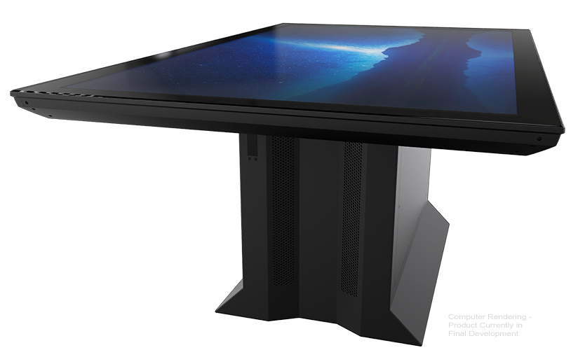 Colossus Multitouch Table With 86 Inch 4k Uhd Touch Screen