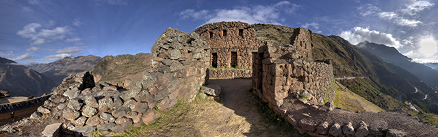 Inkan Structures at Pisac