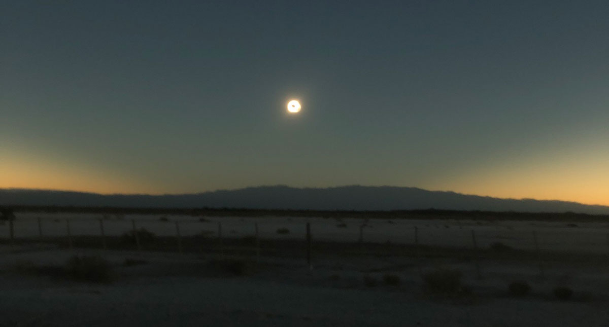 Ideum Team Journeys to Argentina to Capture Breathtaking Photos and Video of Solar Eclipse