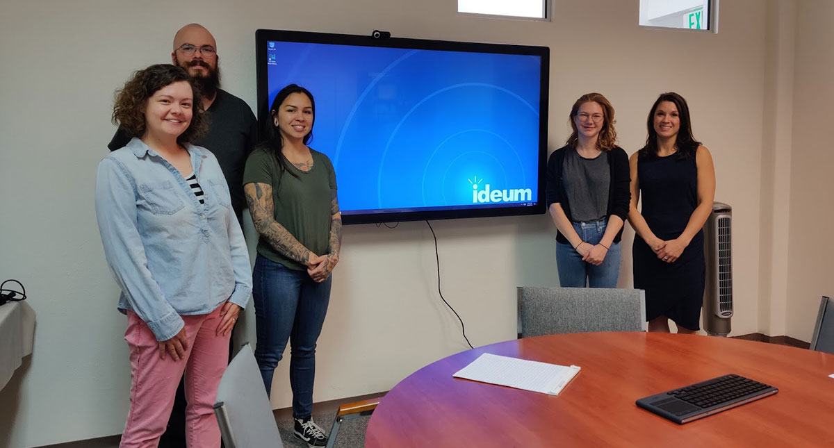 Ideum Donates Touch Displays to NM Center on Law and Poverty and La Cueva High School