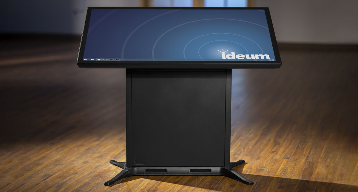 The Drafting II Multitouch Table.