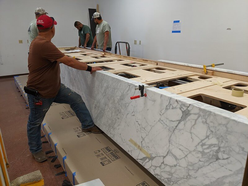 Marble Touch Table Assembly