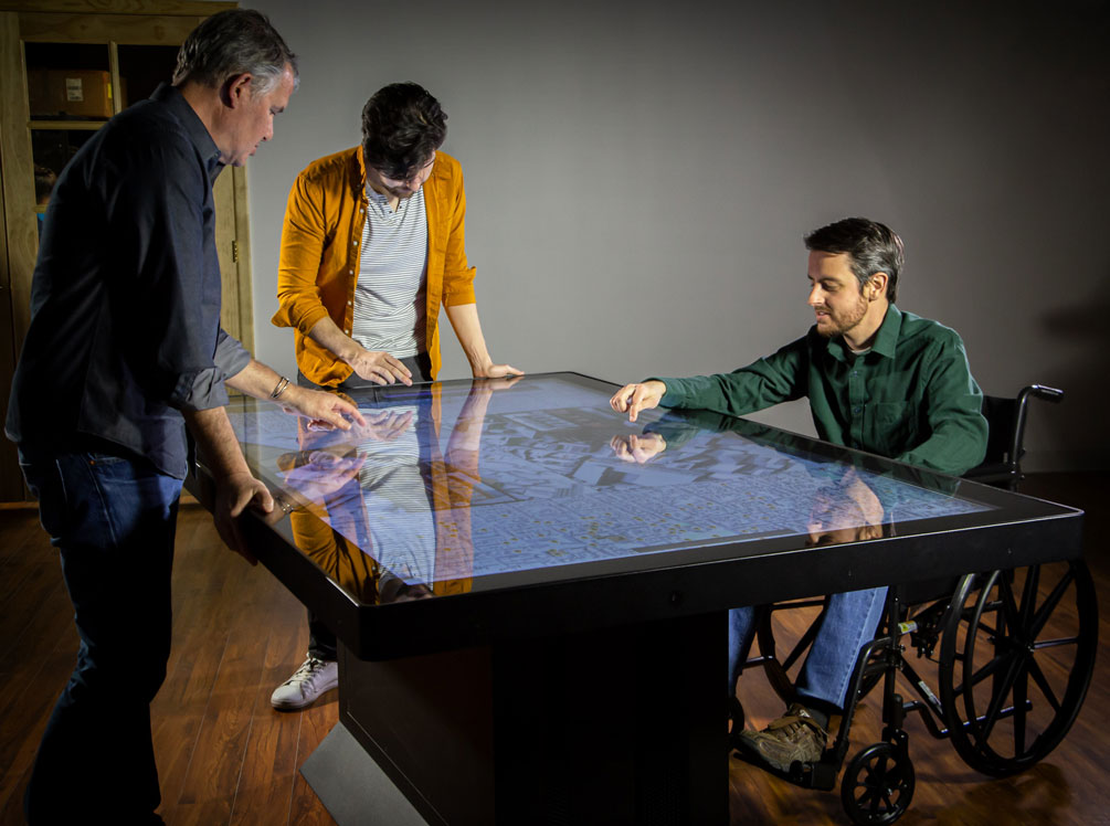 Accessible Design for Multitouch Tables, Large Displays, and Interactive Experiences