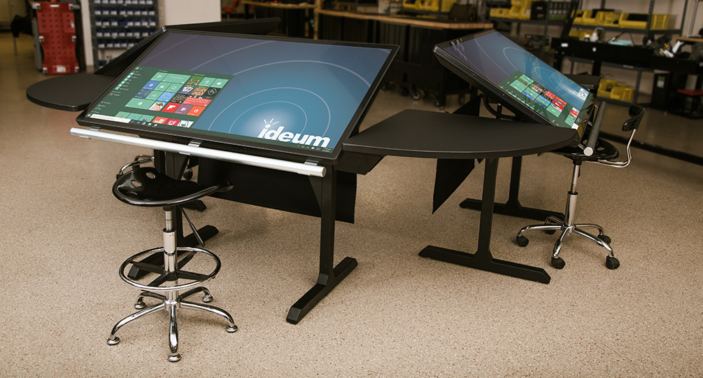 New Multitouch Desk Prototype