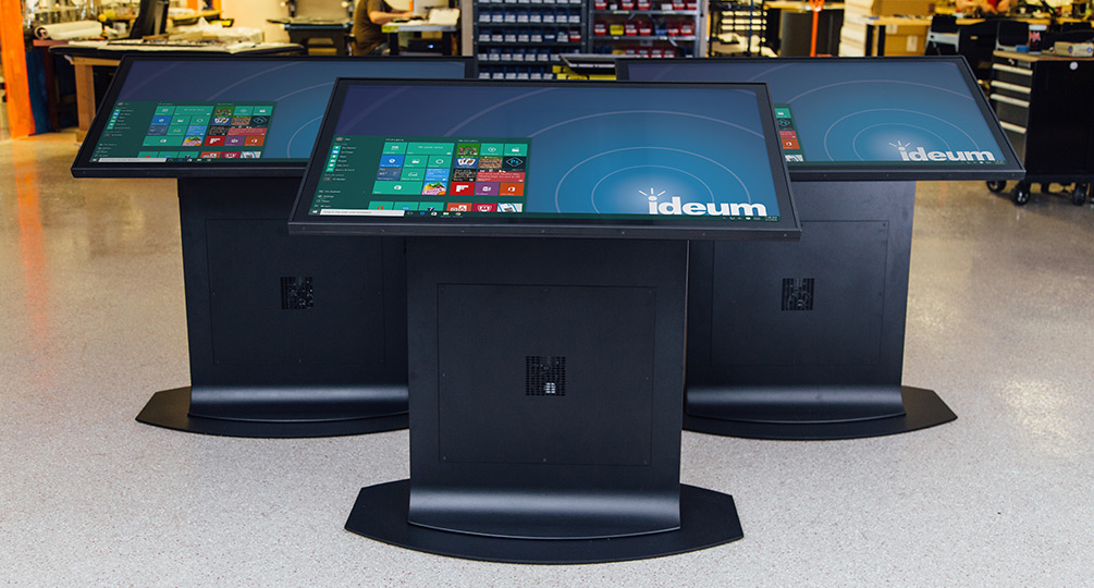 Redesigned Touch Tables & Displays