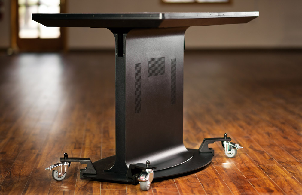 New Clip-on Casters Add Versatility to Your Multitouch Table